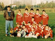 Trenér MŽ METEOR PRAHA - 1995/1996