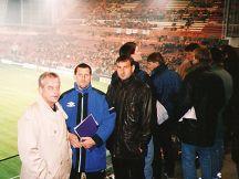 Návštěva stadionu PSV Eindhoven <br/>(Holandsko - 1999)